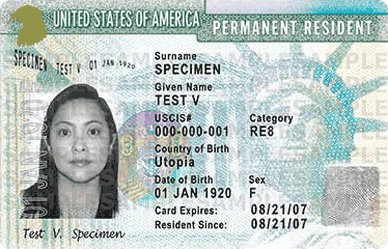Family Green Card